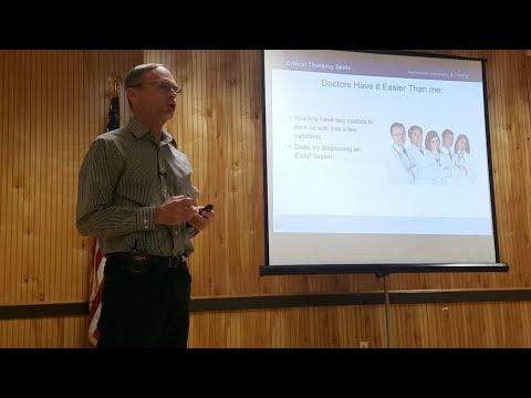 Critical Thinking Tst Seminar W/Dave Crippen