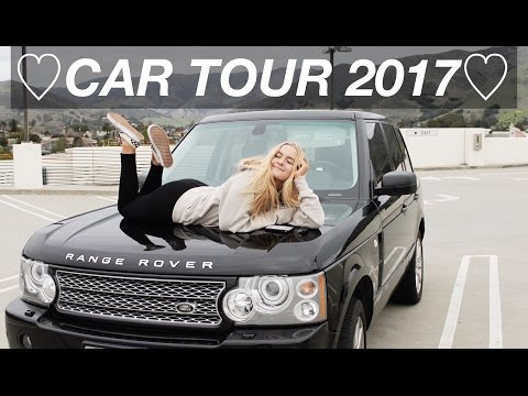 CAR TOUR || WHAT'S IN MY RANGE ROVER!