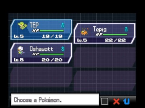 Pokemon Black 2 / White 2 How to get All 3 Starters guide...!!!