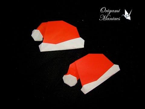 Origami Maniacs 148: Christmas Hat/Gorrito Navidenio