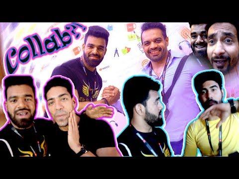 YouTube FanFest 2018 Creator Meet | BB ki Vines | Fit Muscle Tv | GauravZone | Rohit Khatri Fitness