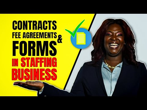 The Staffingpreneurs Contracts, Fee Agreements & Forms - Start a Staffing Agency Busness