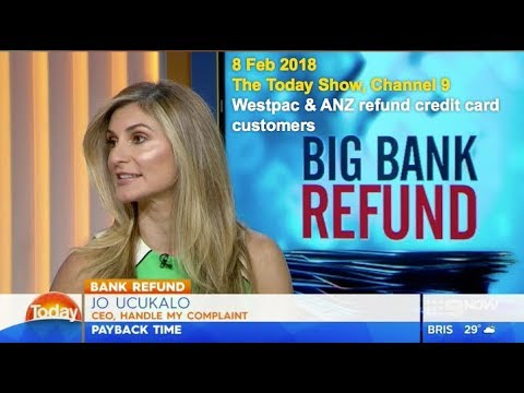 Westpac and ANZ refund credit card customers | The Today Show with Jo Ucukalo | TwoHoots Tips