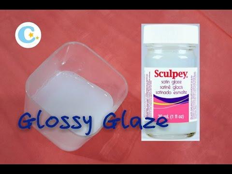 HOMEMADE Polymer Clay Glossy Glaze (same as sculpy