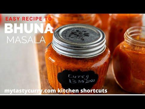 Bhuna Masala | Indian Vegetarian Recipe