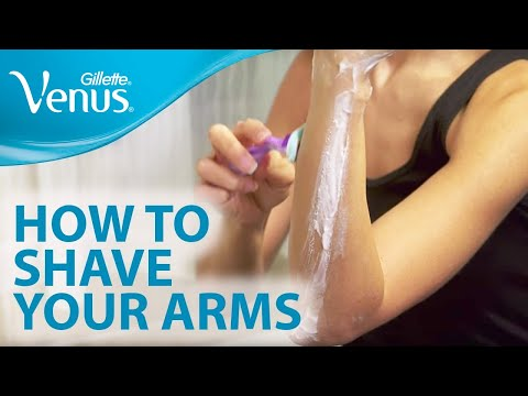 How to Shave Your Arms with Gillette Venus | Shaving Tips