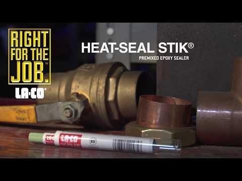 LA-CO® HEAT-SEAL STIK® - Premixed Epoxy Sealer