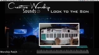 Look to the Son- Hillsong Worship Keyboard Cover MainStage Patch