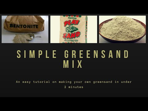 GREENSAND MIX FOR DUMMIES IN UNDER 2 MINUTES