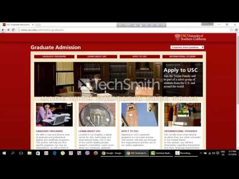 how to find out important admission and application related information from university websites