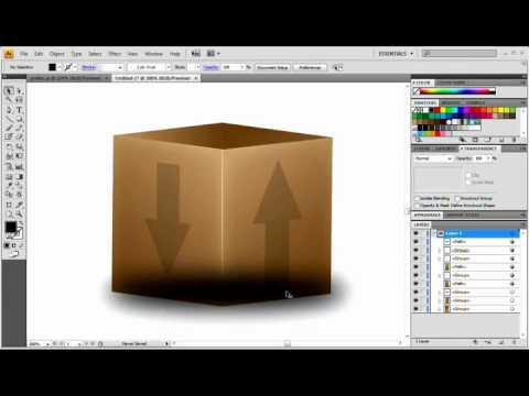 Web 2.0 Style Box / Icon: Adobe Illustrator Tutorial