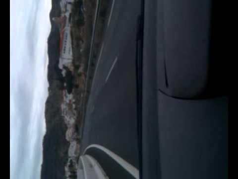 Driving from Granada to Malaga, Spain. Nov,2010