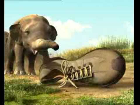 Woodland Shoes - Funny Elephant TV Commercial Ad