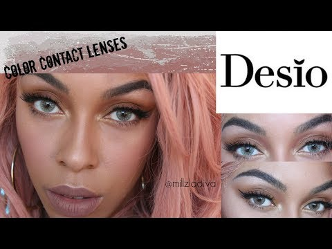 Desio Contact Lenses| 4 Colors- Honest/Detailed Review