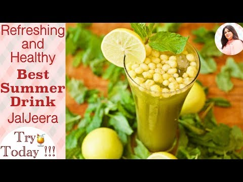 Jal Jeera Recipe, How To Make JalJeera, Minty Jaljeera Recipe, Phudina Jaljeera Paani, Summer drinks