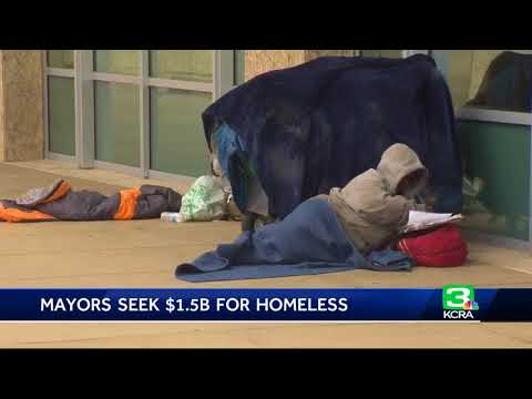 Mayors appeal to Brown for more funding to help homeless
