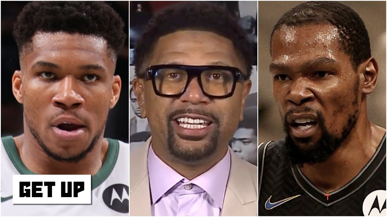 Jalen Rose reacts to Game 2: Giannis is getting crossed up and dunked on by the Nets! | Get Up