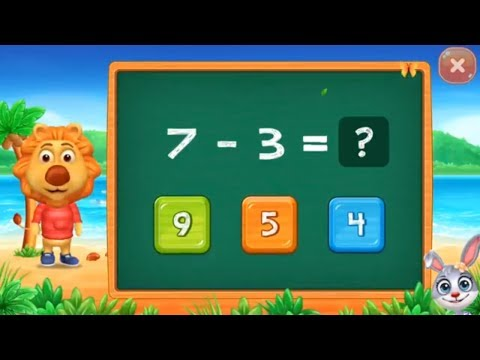 Math Kids - learn subtraction for kids Educational Games for kids - part 8