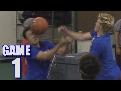 OUR FIRST BASKETBALL GAME!   On-Season Basketball Series   Game 1