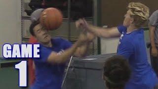 OUR FIRST BASKETBALL GAME! | On-Season Basketball Series | Game 1
