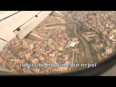 S.KOREA+CHINA(KUNMING)+NEPAL AIRPORTS LANDING AND SKY VIEWS (traveling all around in asia )
