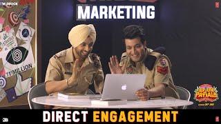 Direct Engagement - Epi 4 |Arjun Patiala| Crazy Habibi vs Decent Munda | Diljit, Sunny Leone, Varun