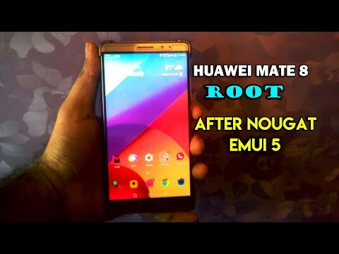 How to root Huawei Mate 8 After Nougat Update