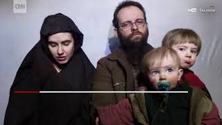 [WATCH] Taliban releases America-Canadian family after 5 years captivity
