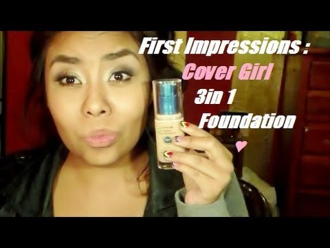 First Impressions: Cover Girl Stay Fabulous 3 in 1 Foundation ♥