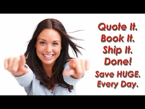 How To Save HUGE Money Shipping LTL Freight/Small Packages. Best Click and Ship Technology.