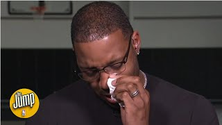 Tracy McGrady in tears remembering good friend Kobe Bryant and his daughter Gianna   The Jump