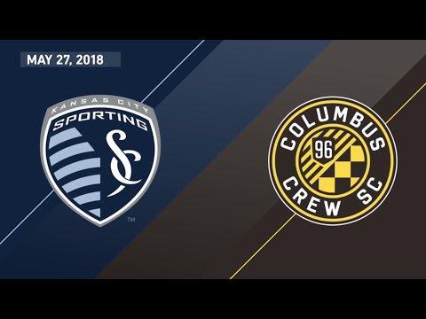 HIGHLIGHTS: Sporting Kansas City vs. Columbus Crew SC | May 27, 2018