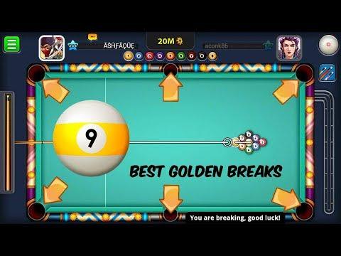 TOP 5 MOST EFFECTIVE GOLDEN BREAK - 9 BALL POOL - MIAMI BEACH | 8 BALL POOL