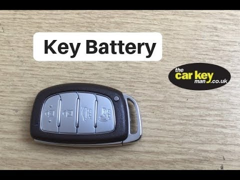 Hyundai i40 Proximity Key Battery Change HOW TO