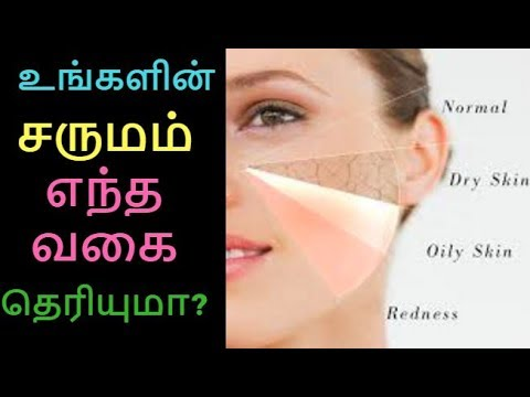 Do you know ur skin type? | How to find our Skin type | Oily Dry Sensitive Skin l Tamil Beauty tips