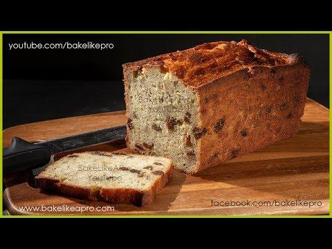 Easy Moist Raisin Banana Bread Recipe