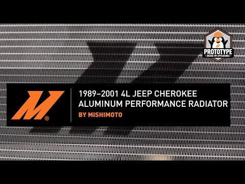 1989–2001 Jeep Cherokee XJ Performance Aluminum Radiator Installation Guide by Mishimoto