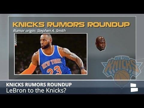 Knicks Rumors: NYC On LeBron's Radar, Kyrie Irving Coming in 2019, Sexton Could Be Pick At #9