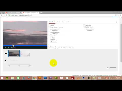 How to use the YouTube Video Editor in 2014
