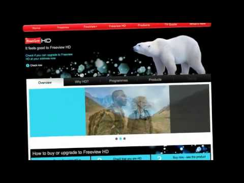 How to... watch high definition TV channels with Freeview HD