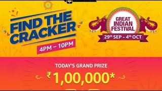 Amazon find the crackers | unlock the grand prize