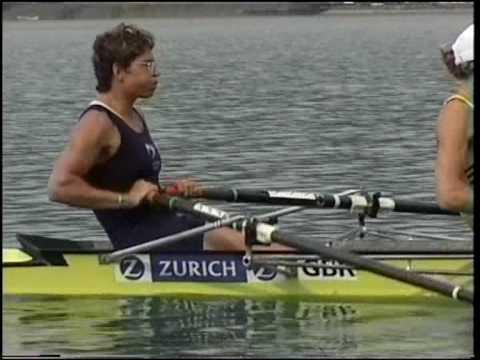 GBR Women's Quad training in 2000 fartlek starts