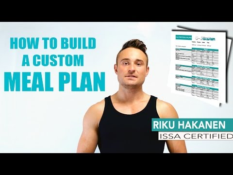 How To Build A Meal Plan - Learn To Calculate Macronutrients To Meet Your Goals