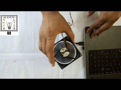 How to make a laptop cooling pad from old cooling fan DIY solve heating problem of laptop