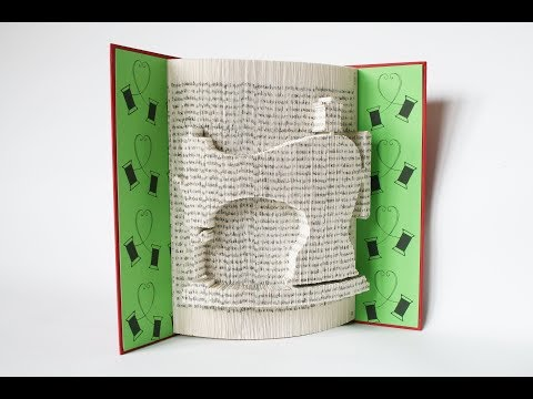 Book Folding Tutorial - Sewing Machine