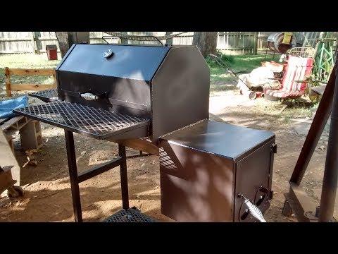 Offset smoker/grill