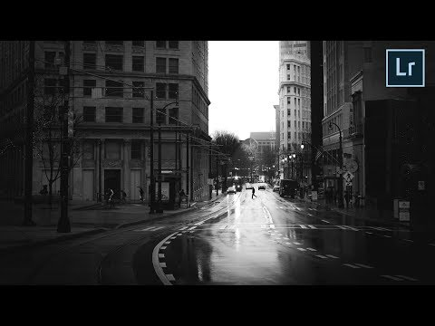 Editing Techniques for Better Black and White Photos (Lightroom Tutorial)