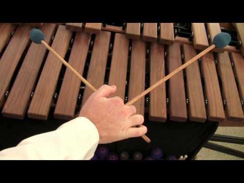 Marimbalogy.com Ep.7 pt. 1 Four Mallet Grips