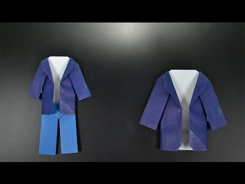Origami: Coat - Instructions in English (BR)