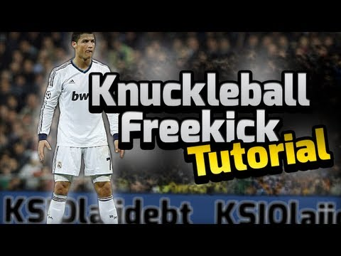 FIFA 14 | Knuckle Ball Free Kick Tutorial